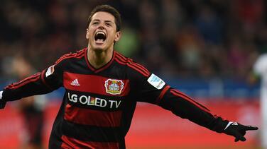 Chicharito despide el 2015 marcando el gol de la victoria del Bayer Leverkusen