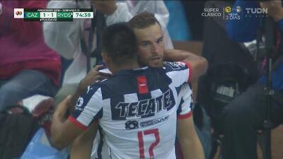 ¡No perdona! Vincent Janssen consigue el empate de Monterrey