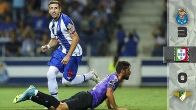 Héctor Herrera marca en el triunfo del Porto sobre Moreirense