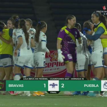 Resumen | Juárez 1-2 Puebla en la Liga MX Femenil