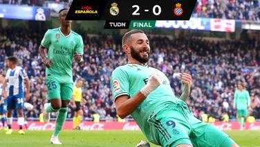 ¡Qué nivel! Karim Benzema lidera nueva victoria merengue