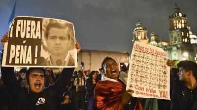 Manifestaciones inundaron las calles de México pidiendo justicia por Ayotzinapa