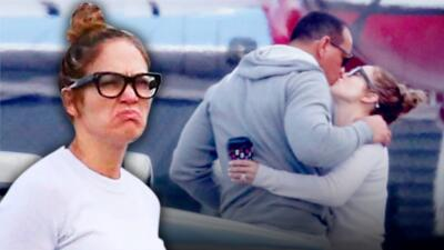 Primero lo besa, lo abraza y luego... Jennifer López le hace esta cara a A-Rod 😱