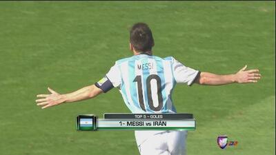 Los 5 mejores goles de Argentina en el mundial