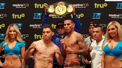 Jorge 'Maromerito' Páez y José Benavidez superaron la báscula