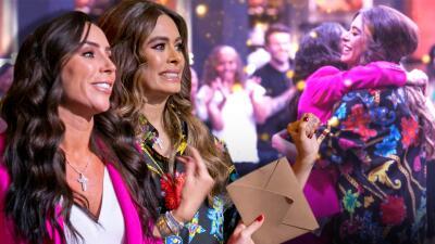 Así fue el encuentro entre Inés Gómez Mont y Galilea Montijo en el primer show de FFF