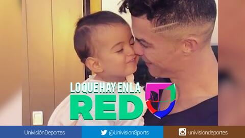 La debilidad de Cristiano: Así de amoroso es el portugués con su pequeña