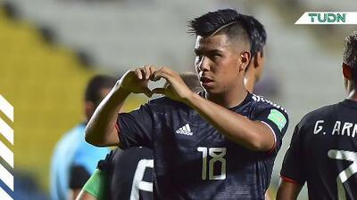 Efraín Álvarez, por la marca de Carlos Vela en Mundial Sub-17