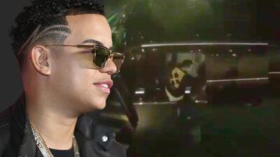 En video: el momento en que asaltan al reggaetonero J Álvarez en Ámsterdam