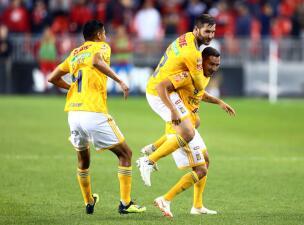 En fotos: Tigres muestra el músculo y vence 3-1 al Toronto FC en la Campeones Cup