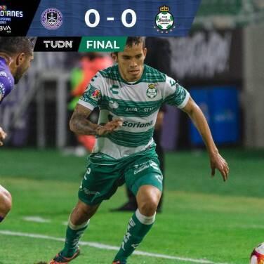 Resumen | Mazatlán y Santos se repartieron los puntos con un 0-0