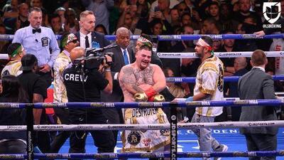 Mientras Andy Ruiz ganó solo seis millones, Anthony Joshua se embolsó más de 25