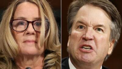 """Una """"aterrada"""" Ford vs. un agresivo Kavanaugh: ¿puede el Senado determinar quién dice la verdad?"""