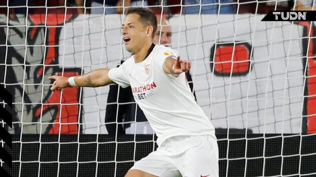 """Chicharito tras su gol ante Apoel: """"Estoy dándolo todo para devolverle la confianza a Sevilla"""""""