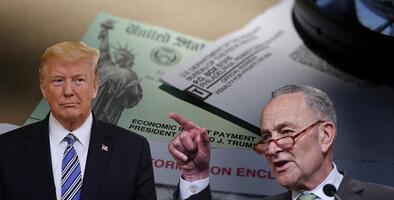 """""""Ve una oportunidad para promover sus intereses"""": buscan evitar que Trump ponga su nombre en cheques de ayuda"""