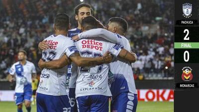 Pachuca mantiene paso perfecto como local con triunfo sobre Morelia