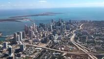Una tarde de miércoles calurosa con cielos despejados le espera a Miami