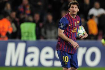 Messi completó Once de pentagoleadores