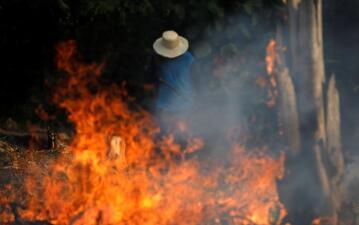 Arde el pulmón del mundo: los peores incendios de los últimos 7 años consumen el Amazonas