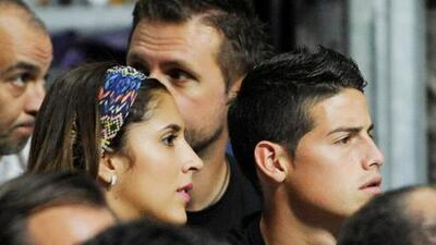 El futbolista colombiano James Rodríguez se separó de su esposa