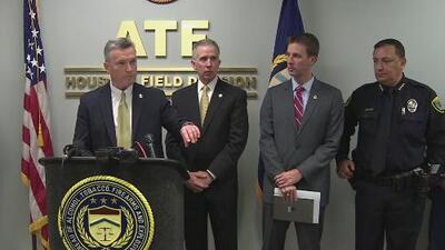Diversas agencias se unen a la ATF para luchar contra la delincuencia en el condado de Harris