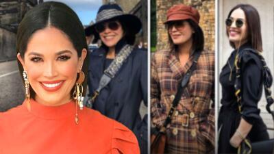 Las imágenes de Karla Martínez por Nueva York, Londres y Escocia que te inspirarán para renovar tu estilo en otoño