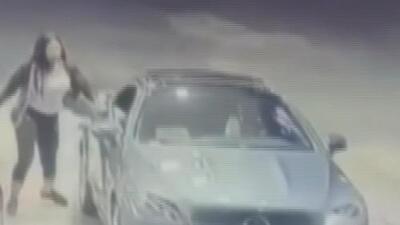 La rápida acción de esta conductora ahuyentó al ladrón que quería asaltarla