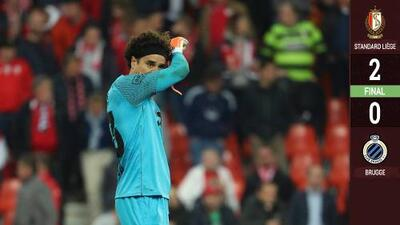 Victoria de Memo Ochoa y el Standard con la que 'amarran' rondas previas de Europa League