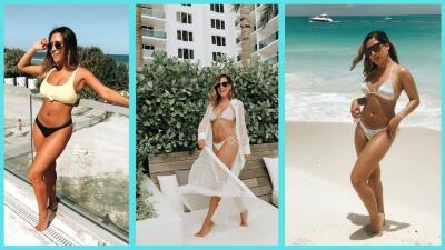 En bikini o traje de baño, las fotos de Jessi Rodríguez disfrutando del calorcito de verano