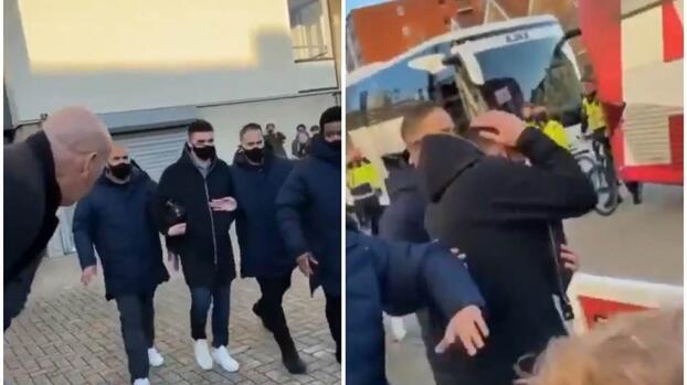 Agreden aficionados del PSV a compañero de Edson Álvarez