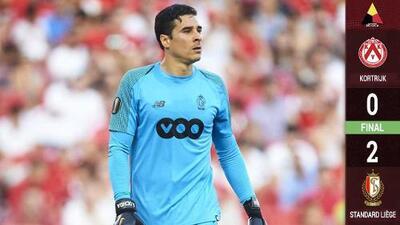 Ochoa y el Standard Lieja se sacudieron la malaria: ganaron 2-0