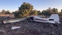 Investigan accidente aéreo en el que murieron dos personas al norte de Arizona