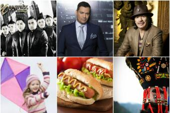 Festival Cubano, del Hot Dog, del papalote y hasta Santana este fin en Chicago