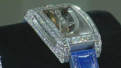 Gobierno mexicano espera recaudar un millón de dólares en la subasta de lujosas joyas confiscadas a narcos