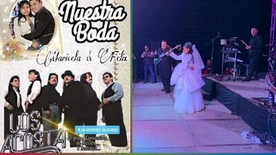 Boda se convierte en 'pachangón' con Los Acosta luego de que los novios la anunciaran en Facebook