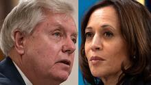 Senador Graham dice que el próximo juicio político puede ser contra Kamala Harris