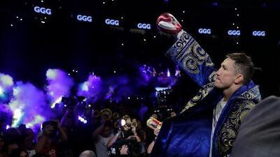 No quiere una historia a la Andy Ruiz en su contra: Golovkin no subestima a su próximo rival