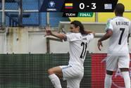 Luis Suárez y Cavani liderados goleada de Uruguay sobre Colombia