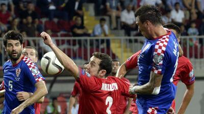 Croacia no pudo romper el cero ante Azerbaiyán de Prosinecki rumbo a la Eurocopa