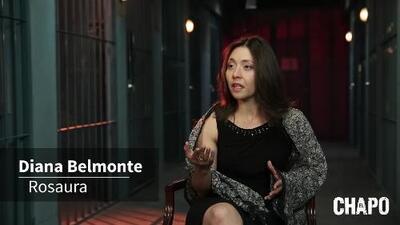Diana Belmonte interpreta a la esposa de Ismael, una mujer que siempre vive con miedo