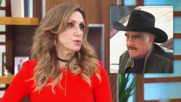 """""""No hay que tirarle piedras"""": Lili al oír la disculpa de Vicente Fernández por la foto comprometedora con una fan"""