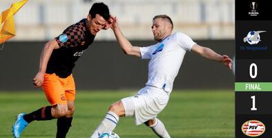 El 'Chucky' Lozano jugó con el PSV en la Europa League