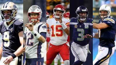 Según Madden 20 este es el ranking de los QB's de los 32 equipos de la NFL