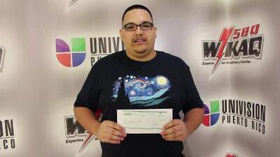Oscar Hermina se llevó los $250.00