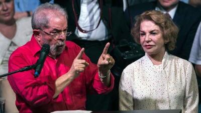 Muere la esposa de Lula da Silva tras sufrir un derrame cerebral