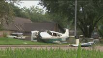 Tripulantes de una avioneta sobreviven al aterrizaje de emergencia en un vecindario de Sugar Land