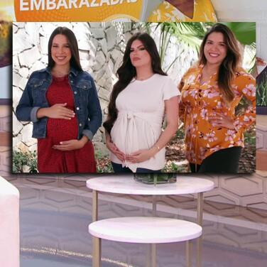 """""""Lo has hecho muy bien"""": con apoyo para Francisca Lachapel, Andrea Chediak comparte looks para embarazadas"""