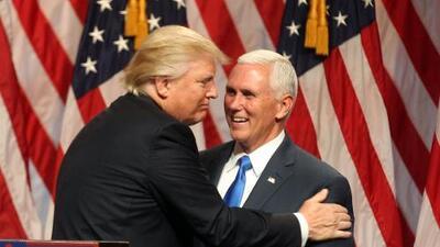 Donald Trump presenta a Mike Pence como candidato a vicepresidente de EEUU por el Partido Republicano