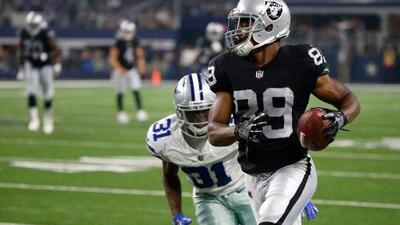 Dallas Cowboys adquieren al WR Amari Cooper de Raiders