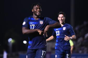 En fotos: Estados Unidos ganó 1-0 a Honduras, va a Mundial Sub 20 y ante México a la Final